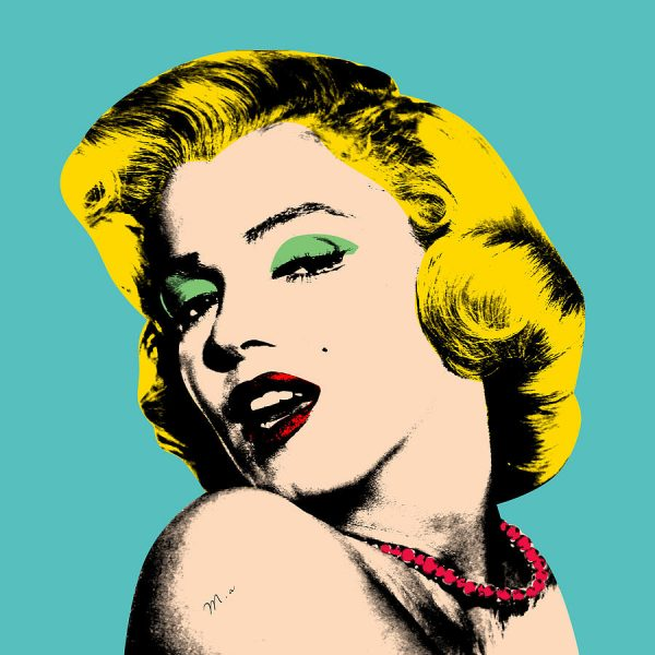 printed wallpaper pop art image