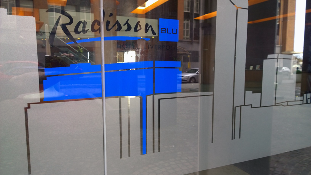 Glass Manifestation at Radisson Blu Hotel