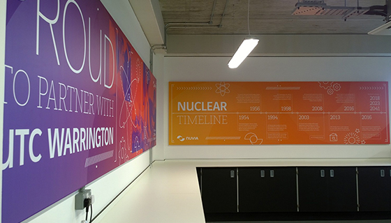 Nuvia UTC Wall mounted signs