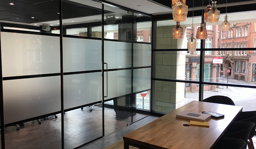 Glass manifestation Manchester