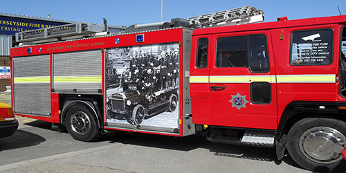 Merseyside Fire & Rescue Truck Livery