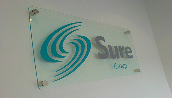 Perspex sign supplied and fitted Speke Liverpool