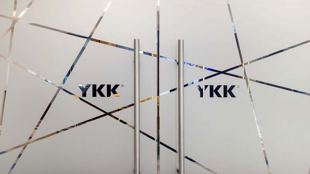 YKK Daresbury Park Glass Manifestation With Corporate Logo Branding