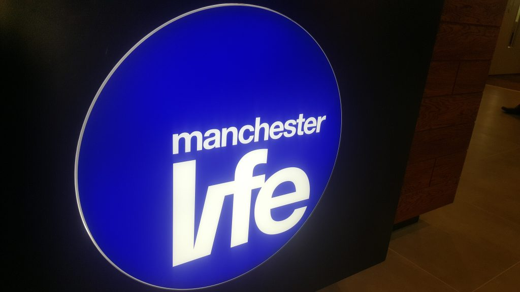 Illuminated Signage for Manchester Life