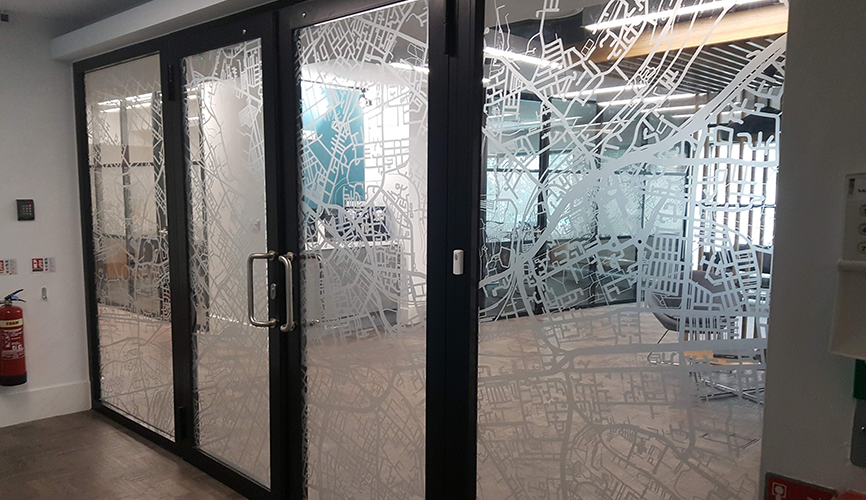 Glass Manifestation Manchester Prescott Graphics