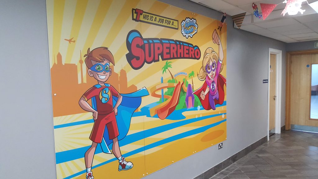 Splashworld Internal Graphics – Southport