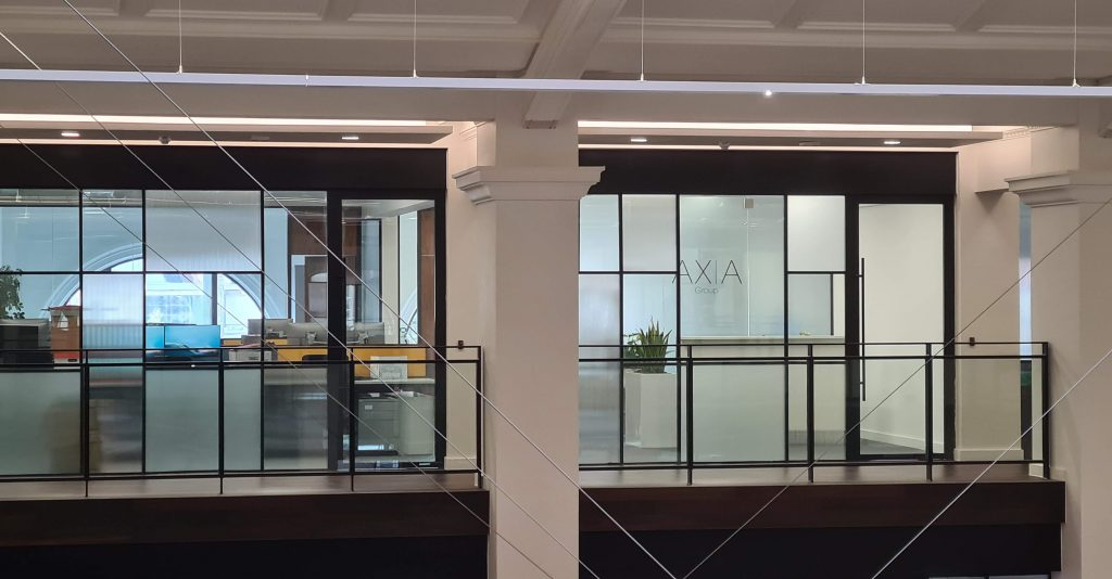 Axia Group Glass Manifestation – Liver Building, Liverpool