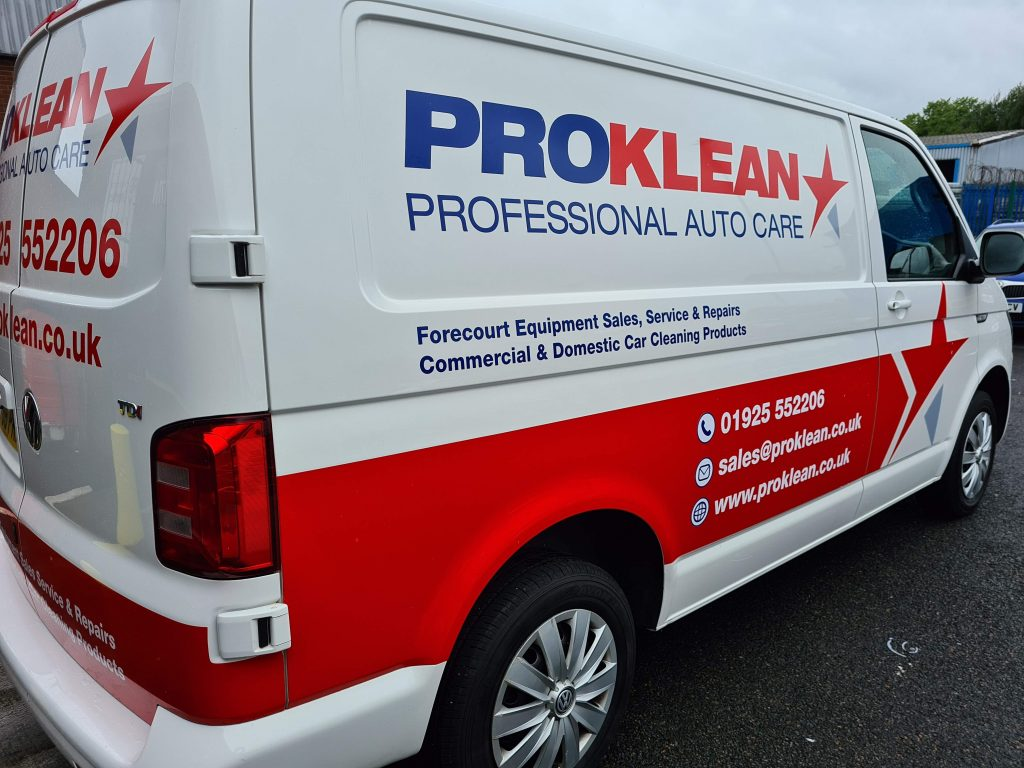ProKlean Professional Auto Care Vehicle Livery